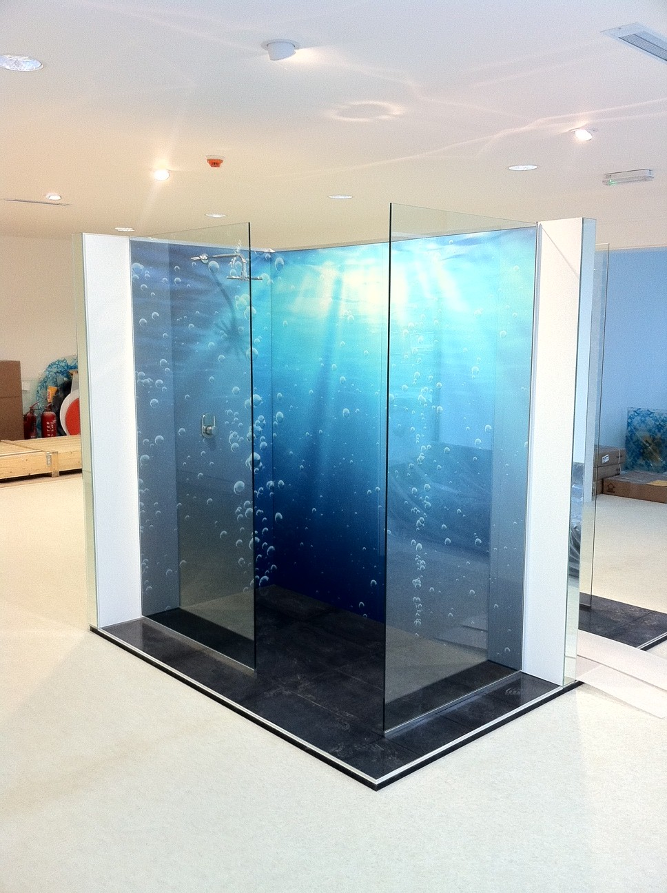 transparent wall panels. Bathroom Glass Wall Panels Transparent R